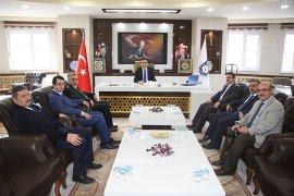 Başkan Kalaycı'ya Vergi Haftası Ziyareti