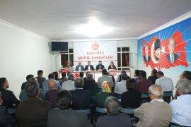 MHP İl Başkanı Ünüvar İlk Yönetim Kurulu Toplantısını Yaptı
