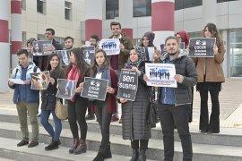 KMÜ Öğrencilerinden Her Türlü Şiddete Hayır Çağrısı