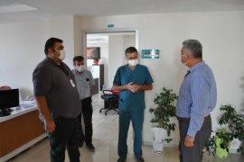 Başkan Zorlu Sağlık Çalışanlarını Ziyaret Etti