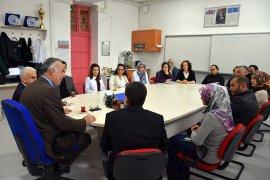 Vali Yardımcısı ve İl Müdürü  Bİfa Okulunu Ziyaret Etti