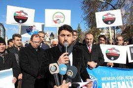 "Karamanlı STK'lardan ""Kudüs"" protestosu"