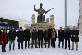 Rektör Akgül, Ardahan Üniversitesini Ziyaret Etti