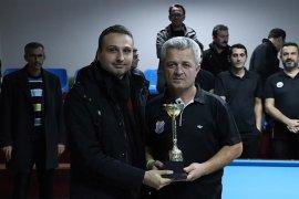 Karaman'da 3 Bant Bilardo Heyecanı Sona Erdi