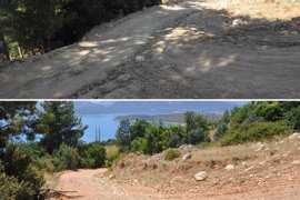 Ermenek Belediyesi'nin Yol Yapım Çalışmaları Devam Ediyor