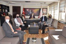 Yeşilay Başkanı İhsan Duru'dan kurumlara ziyaret