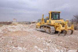 Sanayi Köprülü Kavşağında Yol Genişletme Çalışması