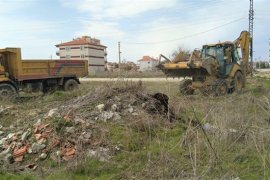 Belediye Çalışmaları Şehrin Muhtelif Bölgelerinde Devam Ediyor
