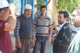 AK Parti Milletvekil adayları Taşeli bölgesine adeta çıkarma yaptı