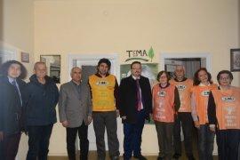 İYİ Parti Başkan AdayıTEMA Vakfı  Karaman Şubesini  ziyaret etti.