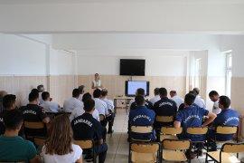 İl Jandarma Komutanlığında askeri personele bir seminer verildi