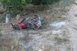 Karaman'da yürüyüş yapan kadınlara motosiklet çarptı: 4 yaralı