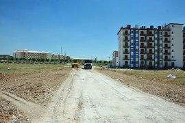 Belediyenin Yol Yapım Çalışmaları Devam Ediyor
