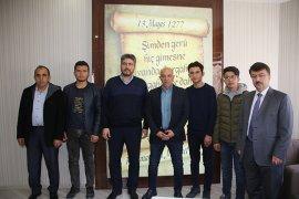 İyilik Okulu Projesi Ekibinden Belediyeye Ziyaret