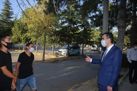 Başkan Kalaycı Çay Bahçelerini Denetledi