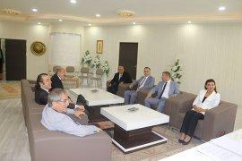 Satranç Federasyonu Başkanı Başkan Kalaycı'yı Ziyaret Etti