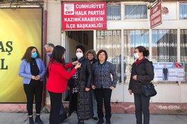 CHP Kadın Kolları örgütleri olarak çalışmaları devam ediyor