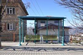 Ermenek Belediyesinin Durak Koyma Çalışmaları Devam Ediyor
