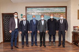 CHP Karaman İl Örgütü komşu şehir başkanlarını ziyaret etti