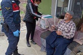Eğitim Camiası Yaşlılarımızın Yardımına Koşuyor