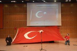 KMÜ'de 'İdlib Şehitlerini Anma' Programı