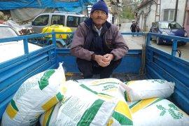 Çiftçiye Ücretsiz Tohumluk Nohut Dağıtıldı