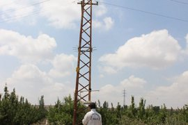Karaman'da Elektrik Akımına Kapılan İşçi Ölümden Döndü