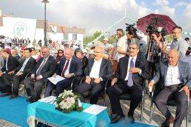Bakan Elvan, İçme Suyu Tesisleri ve Türk Dünyası Kültür Parkı'nın açılışını yaptı
