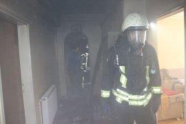 Filistinli ailenin kaldığı evde yangın çıktı
