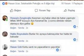 MHP'lier AK Parti'nni afişine tepki gösterdi.