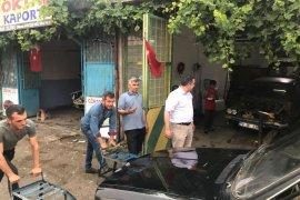 MHP Heyeti'nin bu gün ki durağı sanayi siteleri