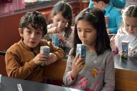 Öğrenciler Okul Sütü İle Büyümeye Devam Ediyor