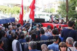 Şehit Ömer Doğan, Karaman'da son yolculuğunu uğurlandı