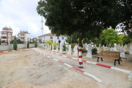 Kazalpa Mezarlığında Yenileme Çalışması