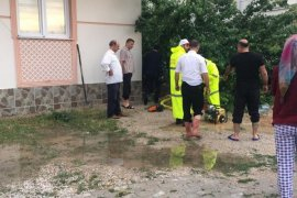 Belediye sağnak yağmura anında müdahale etmesi takdir topladı