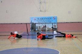 Karaman'da, Goalball 2. Lig 1. Devre Müsabakaları Sona Erdi