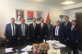 Başkan Kağnıcı TBMM ve CHP Genel Merkezi ziyaret etti