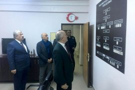 Vali Meral'den polis merkezine ziyaret