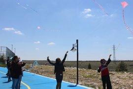 Karaman'da Gökyüzünü Uçurtmalarla Süslediler