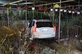 Ehliyetsiz sürücü kazaya karıştı