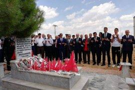 Karamanlı 15 Temmuz şehidi mezarı başında anıldı