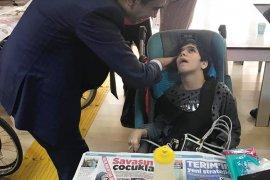 Başkan Kalaycı Engelli Vatandaşlarımzı Unutmuyor