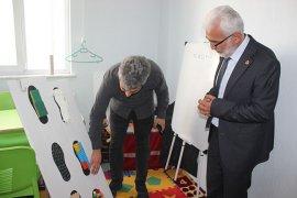 Şaban Şahin  Rehabilitasyon Merkezini Ziyaret Etti