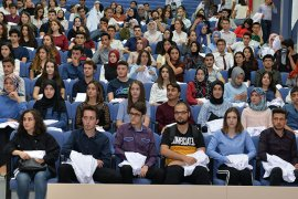 KMÜ Tıp Fakültesi İlk Öğrencileriyle Buluştu