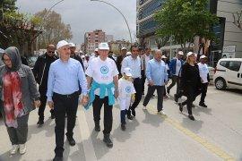 4. Uluslararası Sevgi Ve Barış Yürüyüşü Yapıldı
