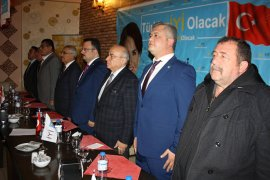 İYİ Parti  Karaman ve Ermenek Başkan adaylarını tanıttı.