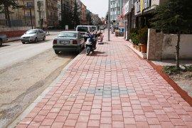 Kazım Karabekir Paşa Caddesi'nde Kaldırımlar Yenileniyor