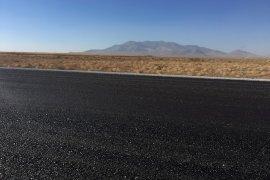 Karaman köy yollarının yapım çalışması tamamlandı