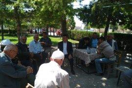 Saadet Partisi Köylünün derdini dinledi.