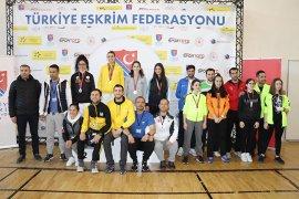 Eskrim Açık Turnuvası, Karaman'da Tamamlandı